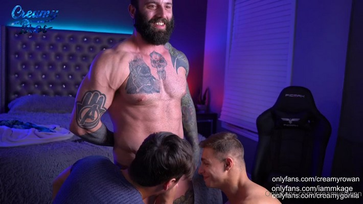 Matt Luscious creamygorilla suck friend onlyfans