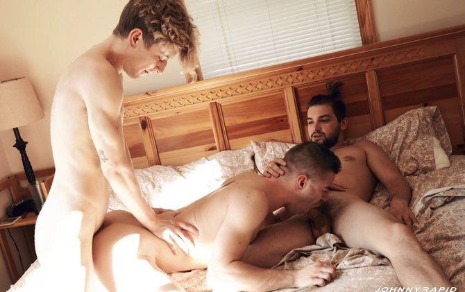 Johnny Rapid, Tom Bentley e Jesse Bolton - DP