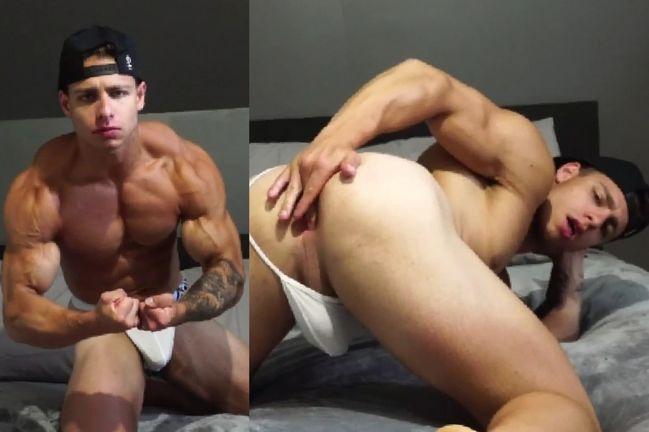 Matt Luscious @creamygorilla show ass - onlyfans