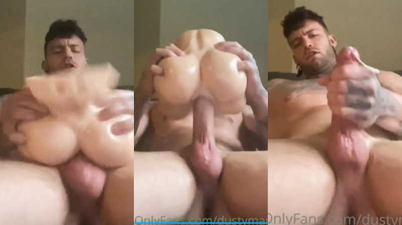 Dustin Mcneer fuck toy and cum onlyfans