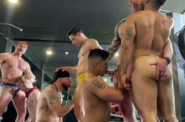 Adam Gray Dalton Riley Paco Colombian Max Lorde Ginger Fox Rick e Griff Atlanta Gym Orgy onlyfans