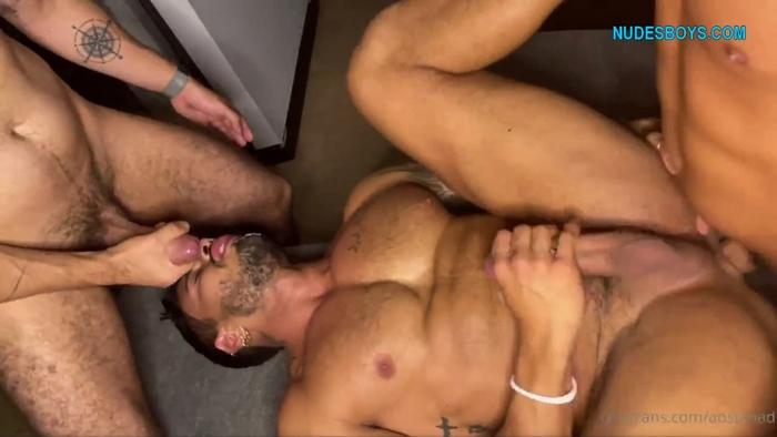 Alejo Ospina First Double Penetration bareback onlyfans
