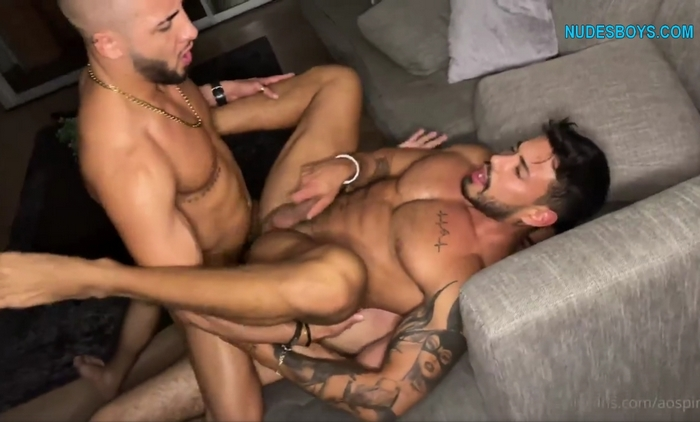 Alejo Ospina First Double Penetration onlyfans