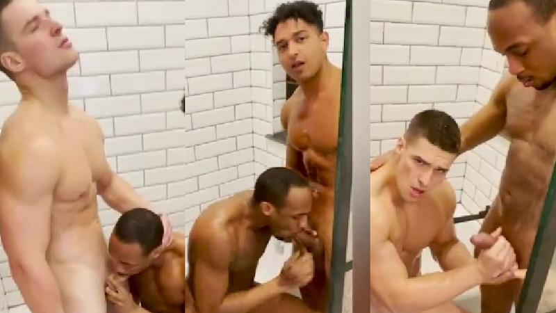 Malik delgado and Kenzo Alvarez oral sex