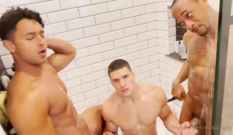 Malik delgado and Kenzo Alvarez oral sex of