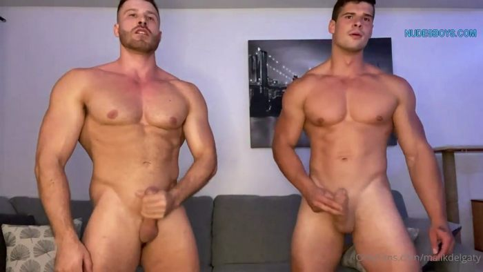 Malik And Ryan Strips And Cums Together 3