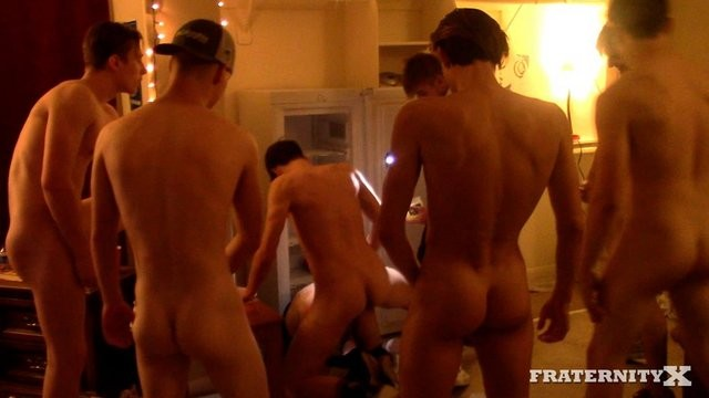 Double Pump Champ Orgy FraternityX