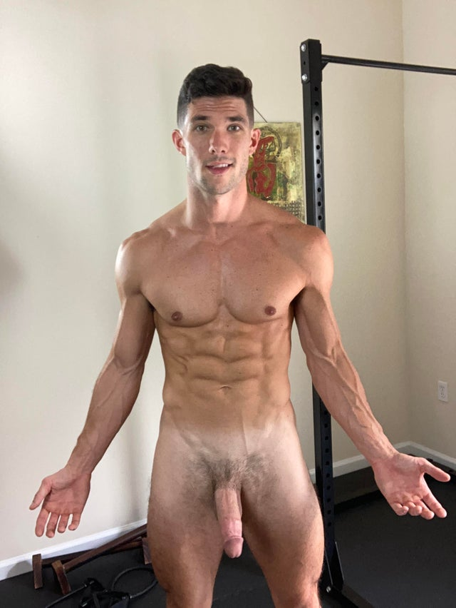 Kevin Cook WorkoutWithKevin Jerking off and cumming all over myself onlyfans