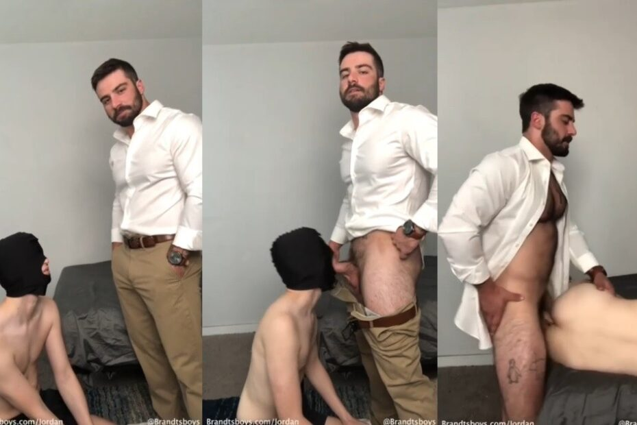 Teacher Jordan punished his Student after Class Brandtsboys