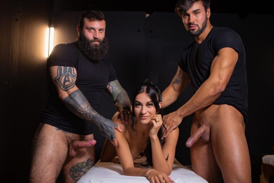 CreamyRowan Markus Kage Samantha Creams threesome